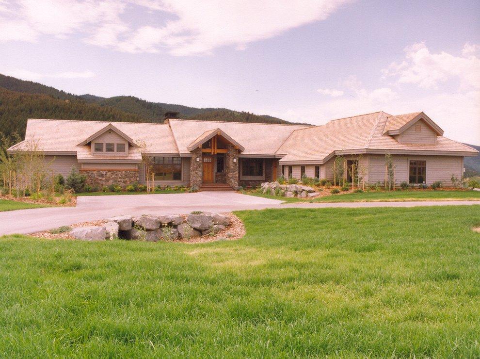 Gallatin Valley Residence-Exterior