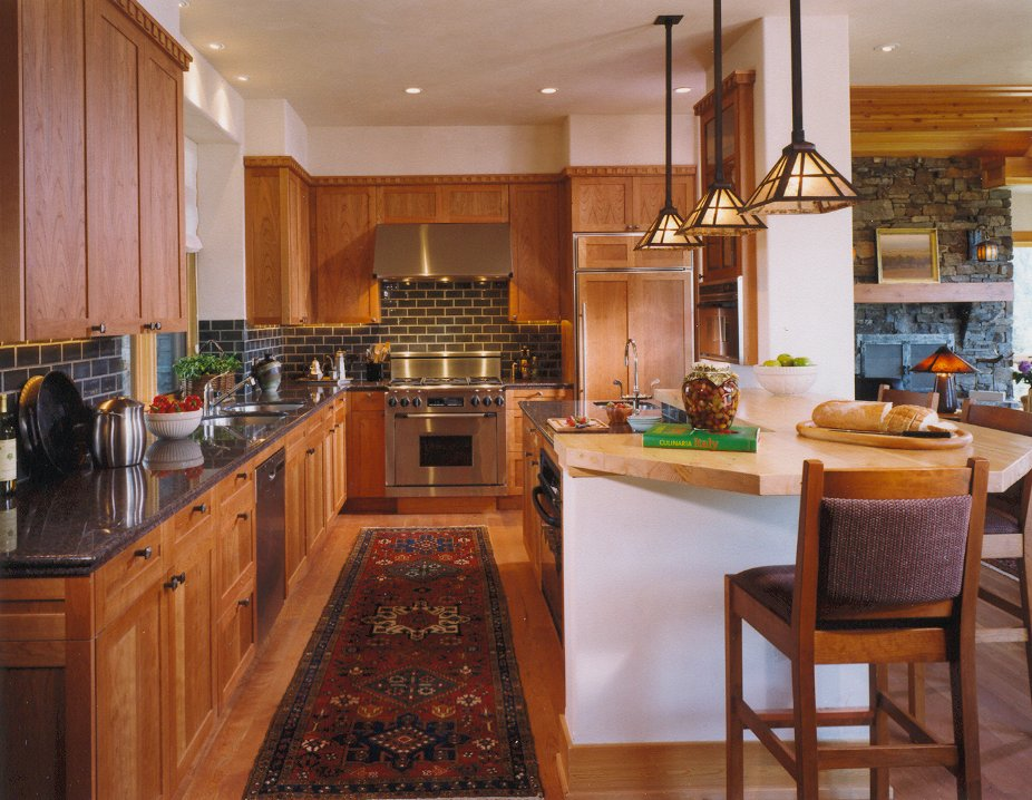 Gallatin Valley Residence-kitchen