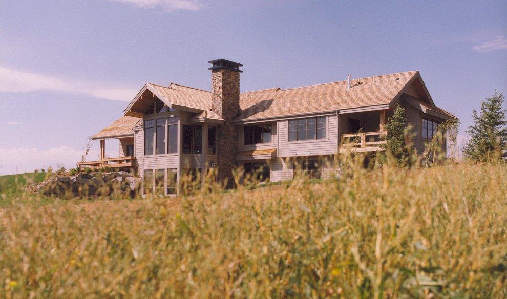 Gallatin Valley Residence-rear