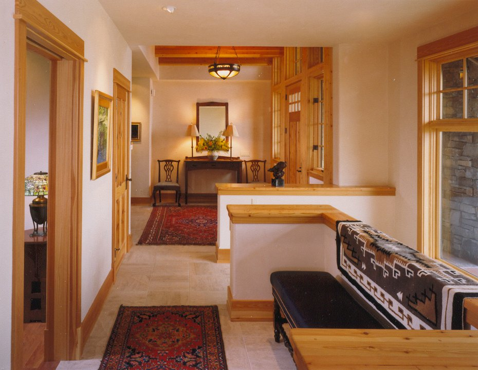 Gallatin Valley Residence-stair