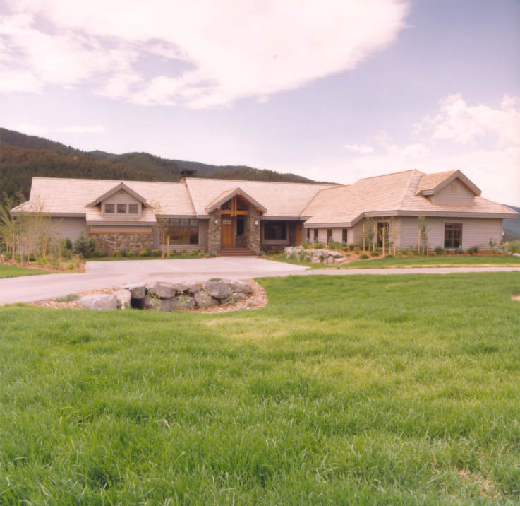Gallatin Valley Residence+front
